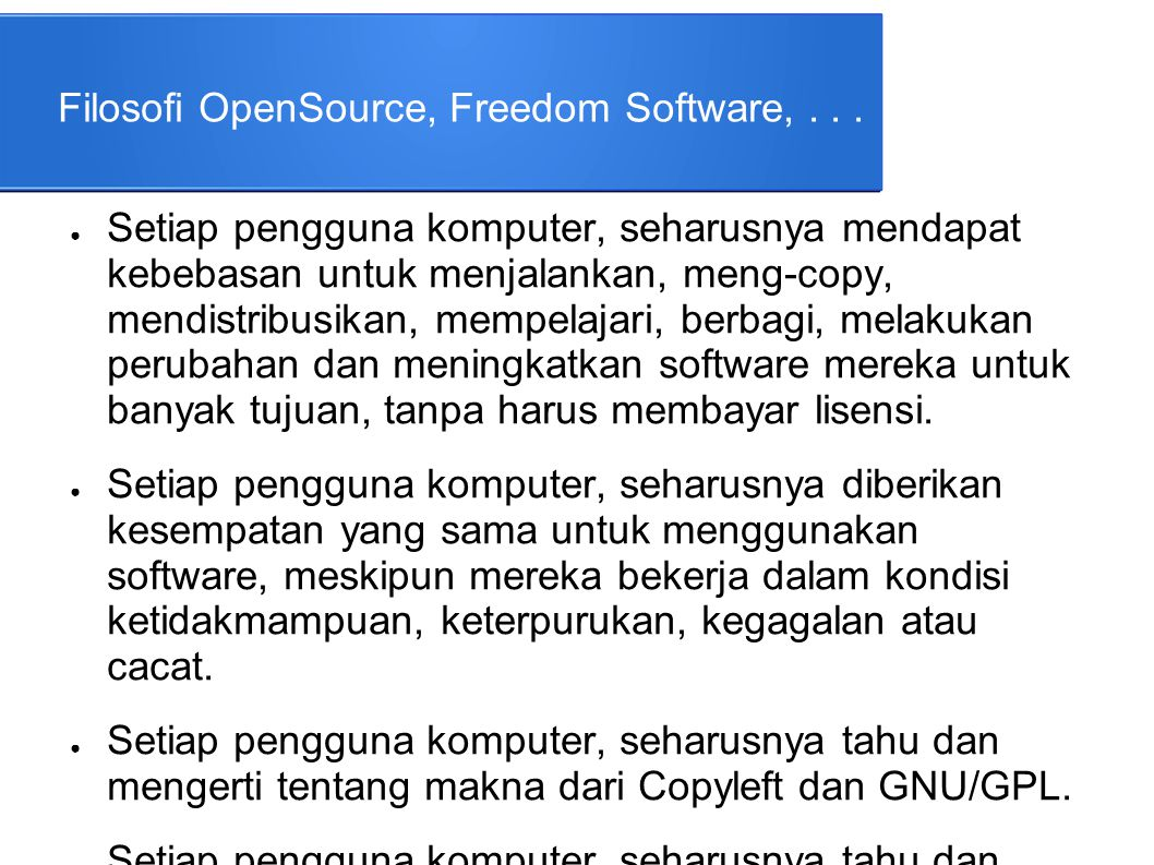 Desktop Environment (GUI) ● Windows – XP : Luna – Vista, 7, 8 : Aero ● Linux – Gnome – KDE – Cinnamon – LXDE – Unity