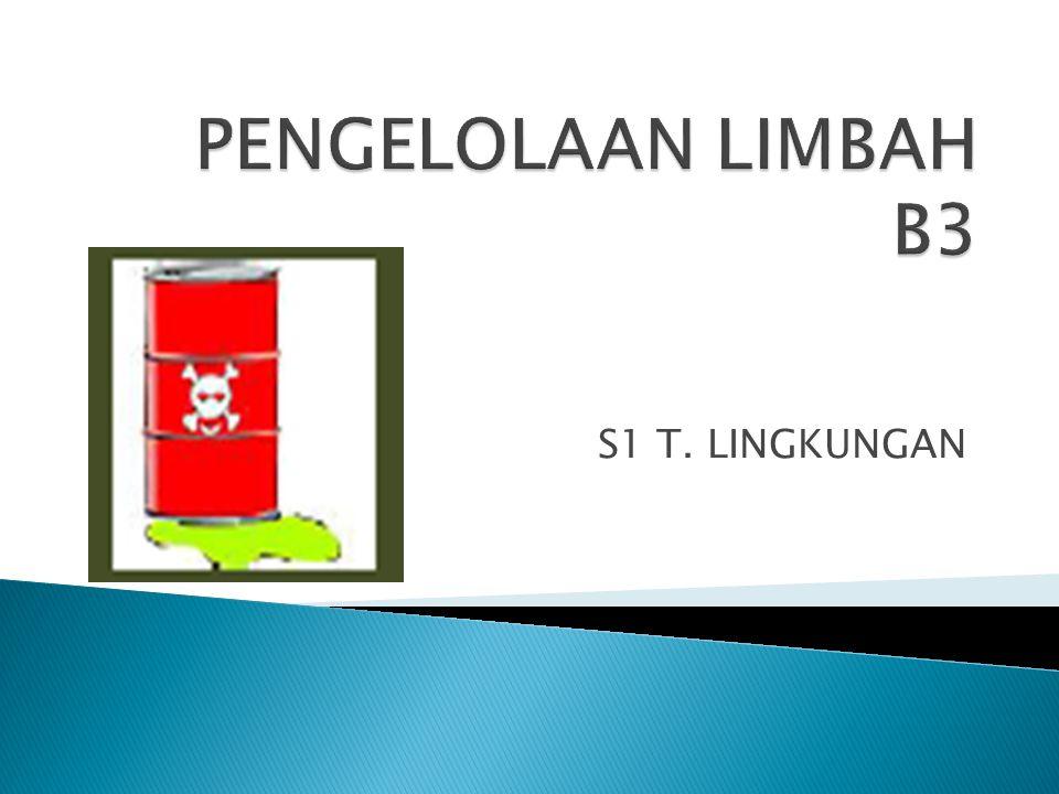 S1 T. LINGKUNGAN