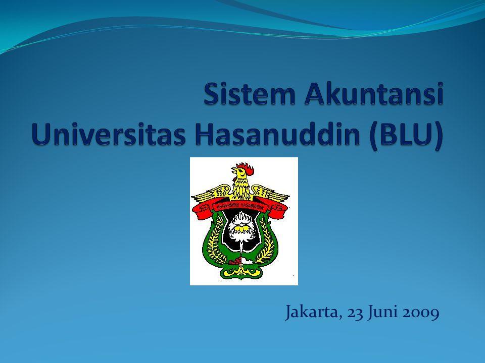Agenda 1.Pendahuluan 2.Sistem Akuntansi BLU 3.Sistem Akuntansi UNHAS (BLU) 4.Penutup