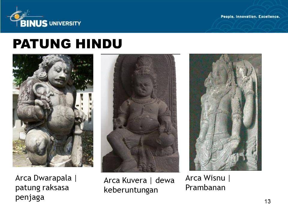 13 PATUNG HINDU Arca Dwarapala | patung raksasa penjaga Arca Kuvera | dewa keberuntungan Arca Wisnu | Prambanan