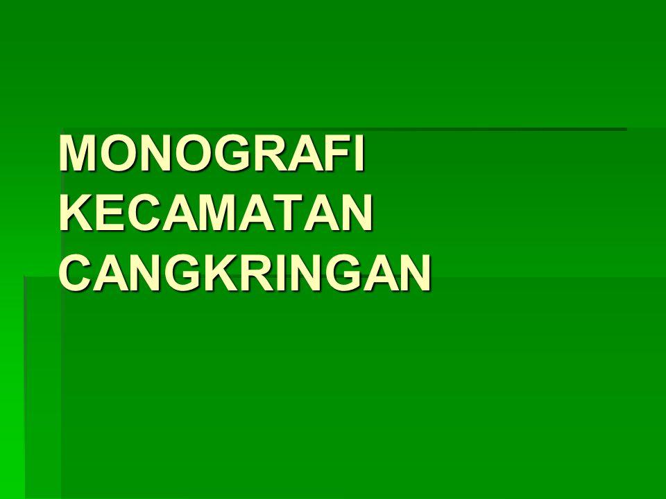 MONOGRAFI KECAMATAN CANGKRINGAN