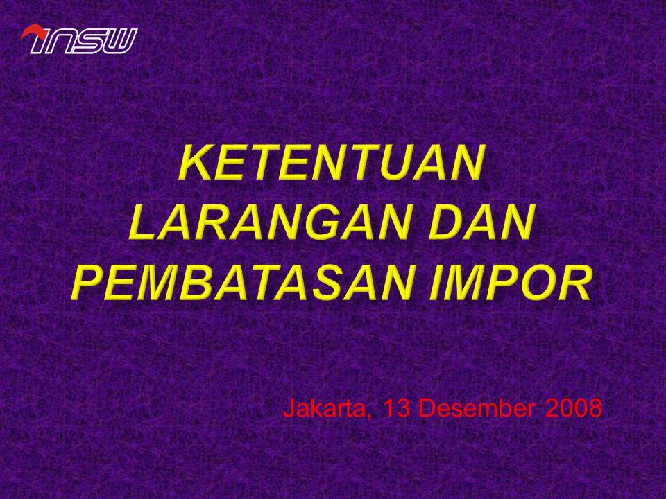 Jakarta, 13 Desember 2008