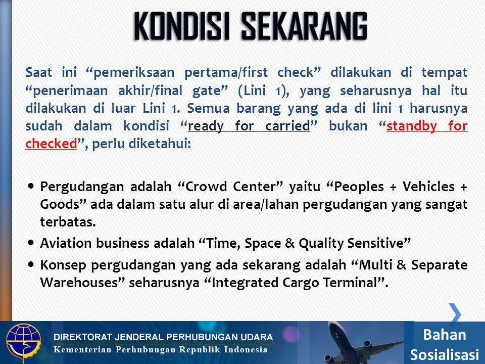  Pemeriksaan keamanan kargo dan pos yang akan diangkut dengan pesawat udara dilakukan untuk memastikan terpenuhinya keamanan dan keselamatan penerbangan.