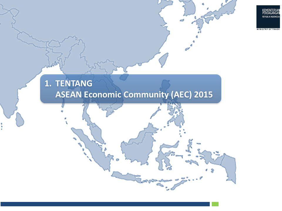  Integrasi sektor barang dimulai dengan Preferential Trade Arrangement (PTA) tahun 1977, disusul dengan skim Common Effective Preferential Tariff for ASEAN Free Trade Area (CEPT-AFTA) tahun 1992  Integrasi sektor jasa dimulai tahun 1995 dengan disepakatinya ASEAN Framework Agreement on Services (AFAS).
