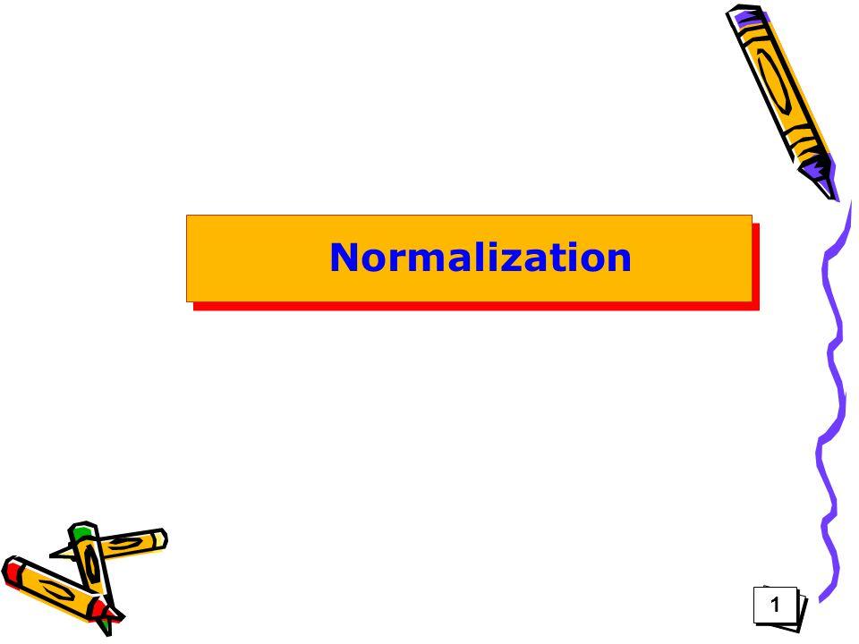 1 1 Normalization