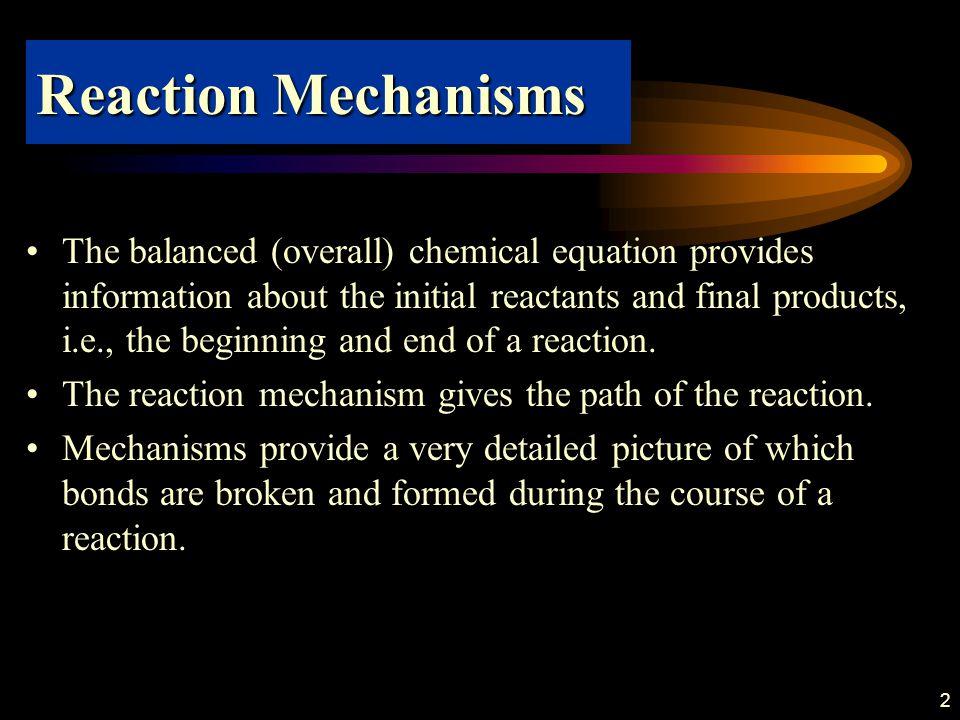 33 Exercise E7.12 Dekomposisi ozon menjadi oksigen berlangsung melalui mekanisme sbg berikut: ›Turunkan ungkapan hukum laju untuk –d[O3]/dt ›Pada kondisi apakah reaksi ini merupakan orde 1 terhadap O3?, tunjukan bagaimana hukum laju pada jawaban a dapat direduksi untuk hal tersebut.