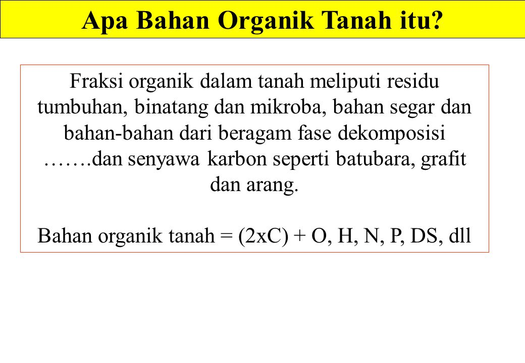 Sifat-sifat Substansi Humik Diunduh dari: http://www.humintech.com/001/articles/article_definition_of_soil_organic_matter3.html …………… 18/3/2013 Many investigators now belive that all dark colored humic substances are part of a system of closely related, but not completely identical, high - molecular - weight polymers.