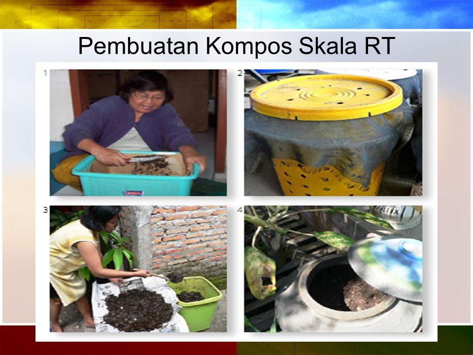 Pembuatan Kompos Skala RT