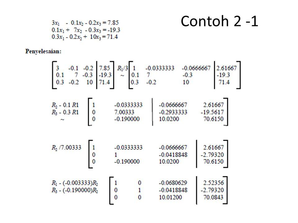 Contoh 2 -1