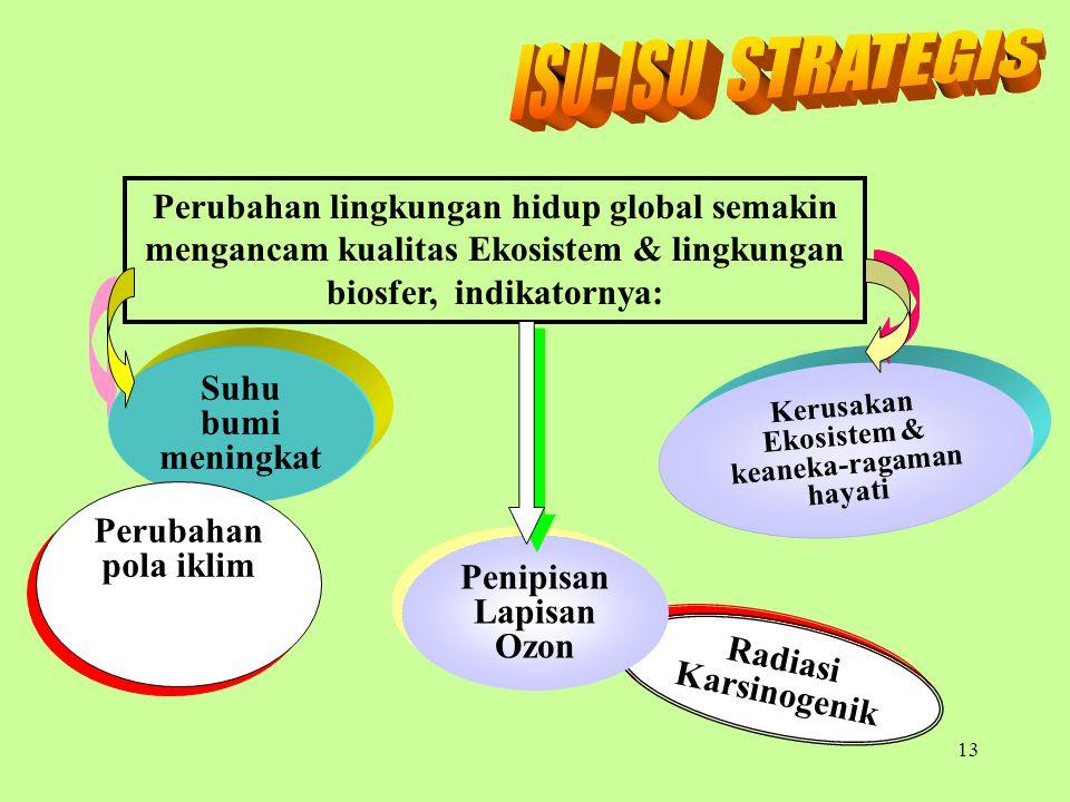 Soemarno, 200712 Kualitas hidup manusia Indonesia semakin menurun, indikatornya: Kematian bayi lahir Gizi Anak BALITA Penyakit akibat Gangguan ekosist