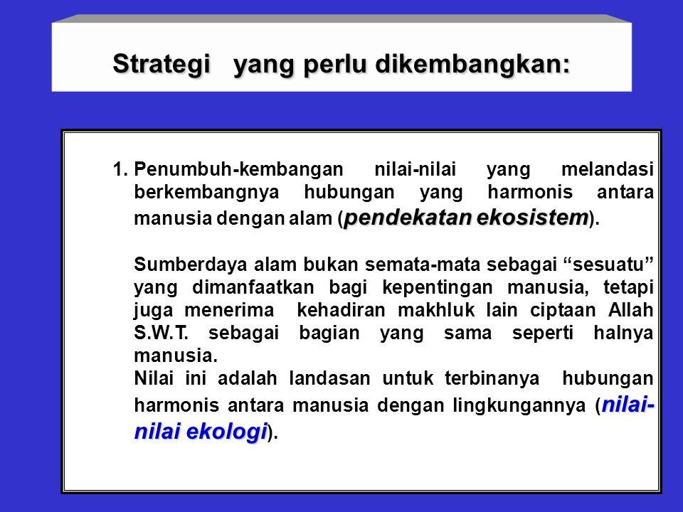 Soemarno, 200731 Nilai keadilan ini dapat dikaji berdasarkan pertanyaan berikut: sumberdaya pembangunan (a). Apakah sumberdaya pembangunan telah terdi