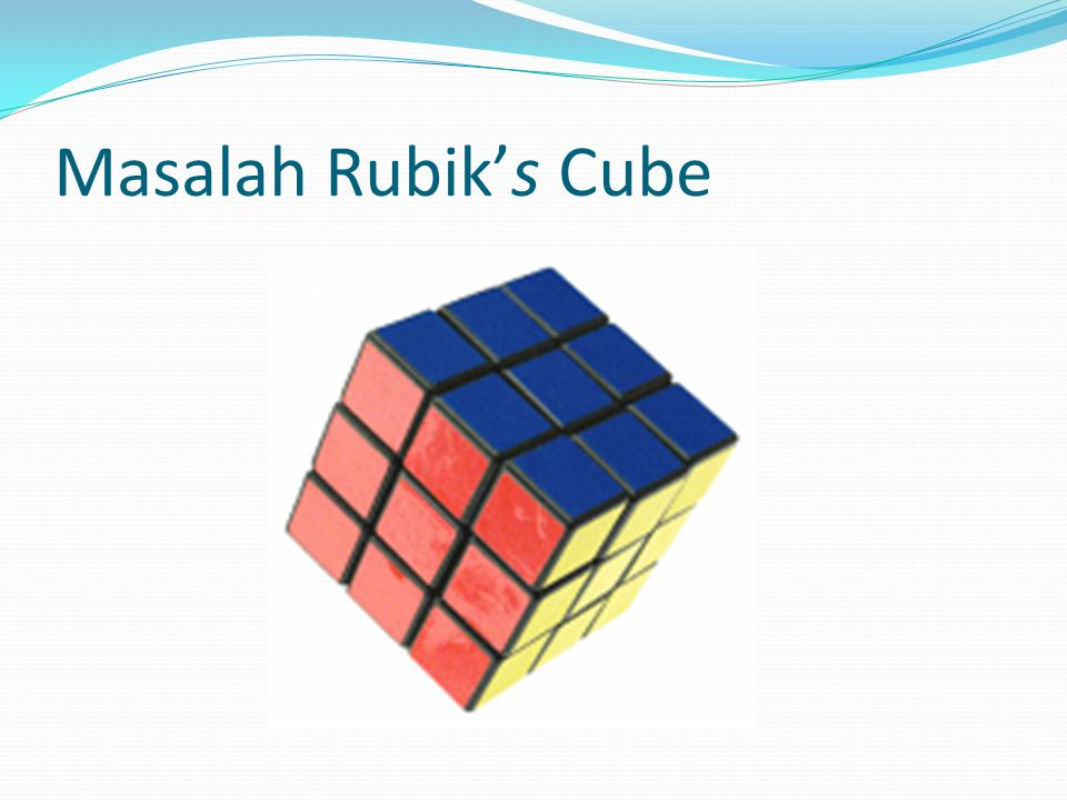 Masalah Rubik's Cube