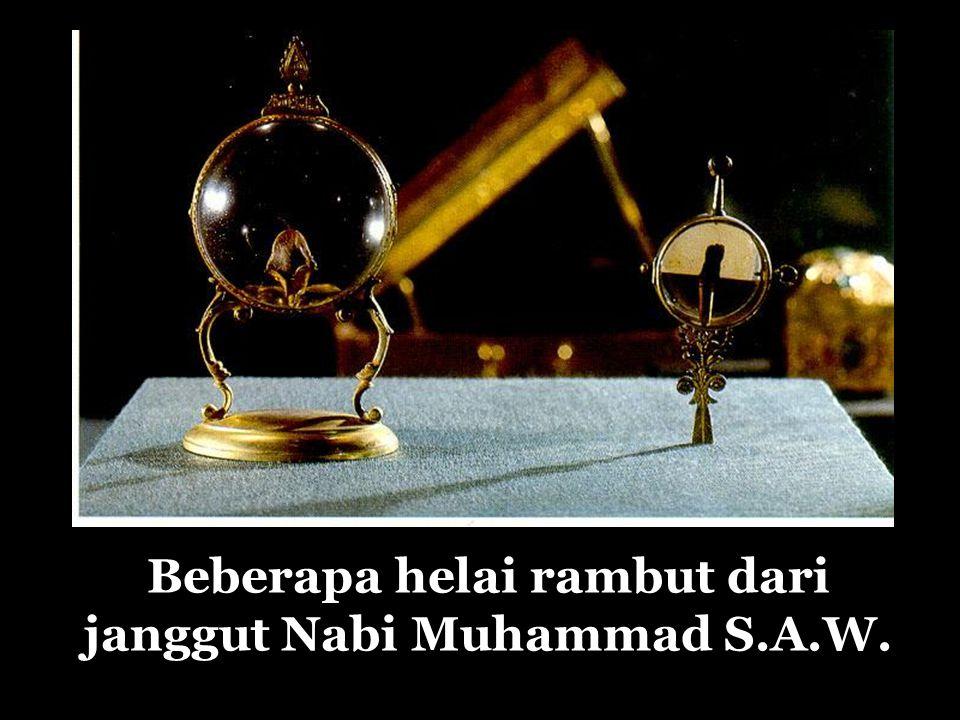 Beberapa helai rambut dari janggut Nabi Muhammad S.A.W.