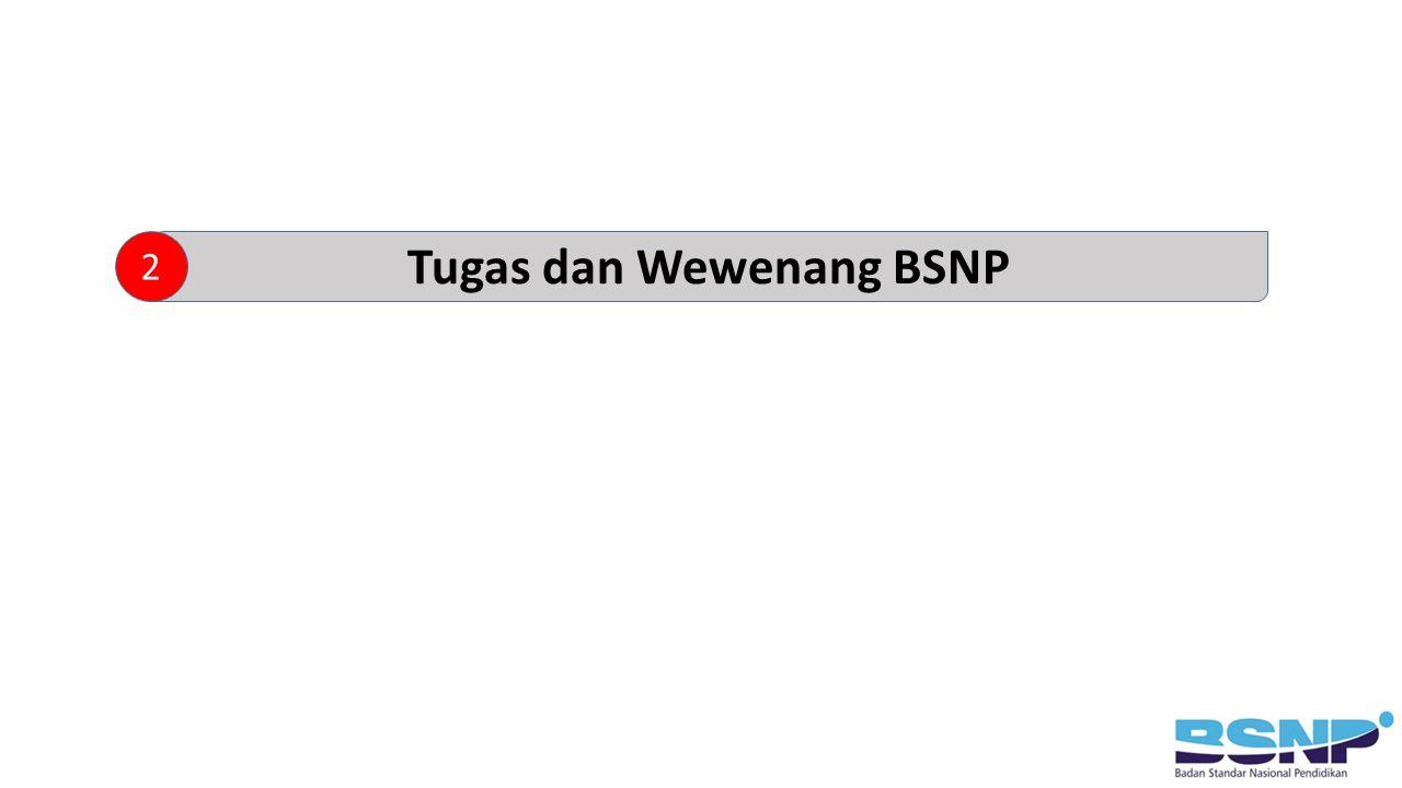 Tugas dan Wewenang BSNP 2