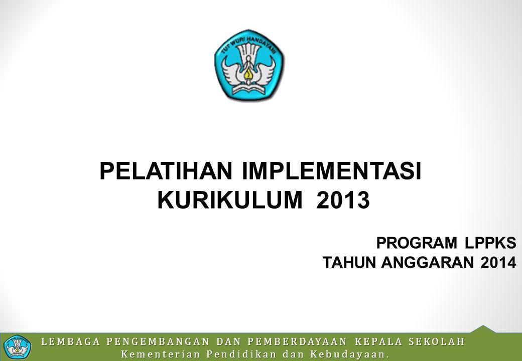 LEMBAGA PENGEMBANGAN DAN PEMBERDAYAAN KEPALA SEKOLAH Kementerian Pendidikan dan Kebudayaan.