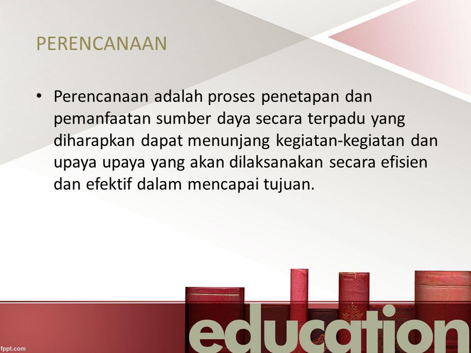 PERENCANAAN PEMBELAJARAN Perencanaan Pembelajaran adalah suatu kegiatan yang direncanakan dalam melaksanakan proses belajar mengajar atau pembelajaran untuk mengembangkan, evaluasi dan pemeliharaan situasi dengan fasilitas pendidikan guna pencapaian tujuan pembelajaran.