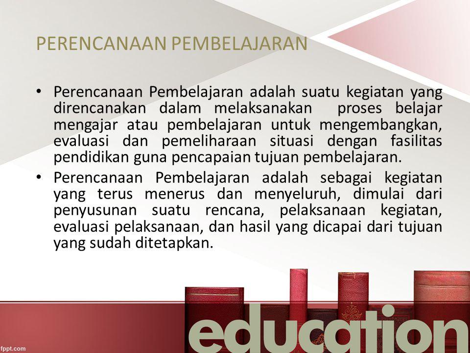 Rencana Pelaksanaan Pembelajaran A.