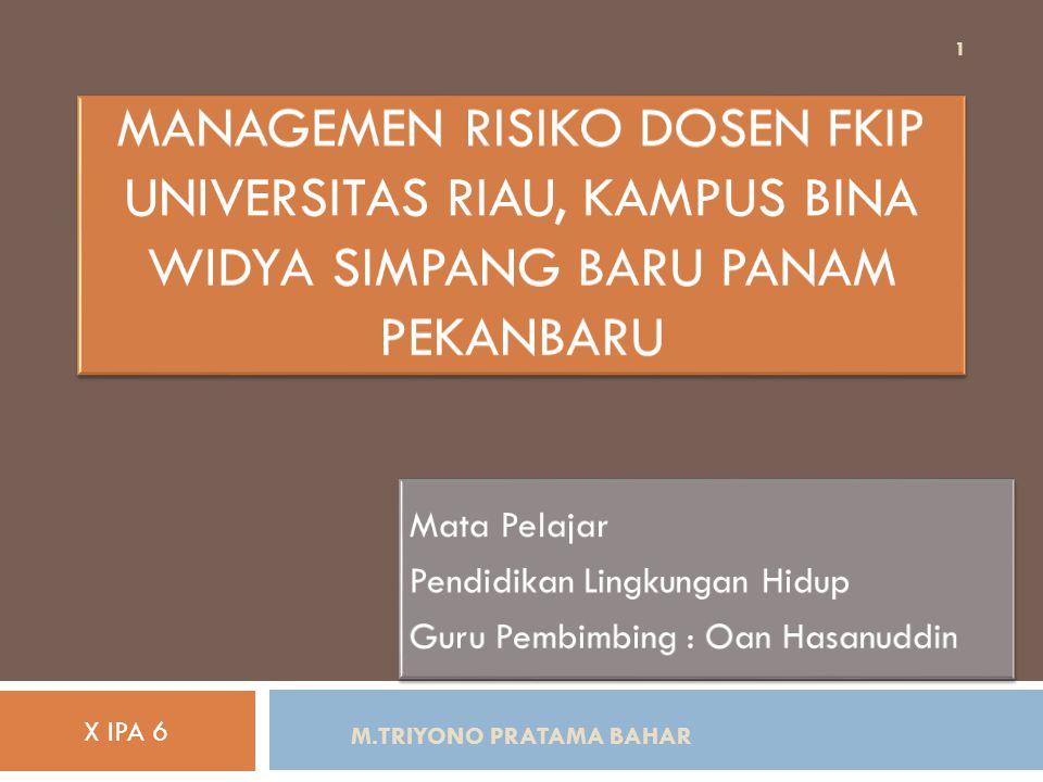 M.TRIYONO PRATAMA BAHAR 22  Dosen adalah tenaga pengajar yang mengajar pada tingkat universitas yang memiliki tugas untuk mendidik dan memotivasi mahasiswa agar dapat meningkatkan sumber daya manusia di indonesia.