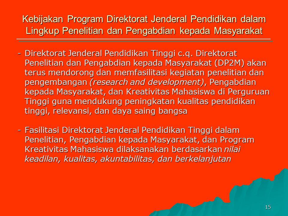 14 Program-Program Strategis Tonggak-Tonggak Kunci Keberhasilan CPenguatan Tata Kelola, Akuntabilitas & Pencitraan Public 1.Temuan penyimpangan UU PNB