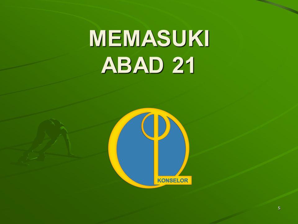 5 MEMASUKI ABAD 21