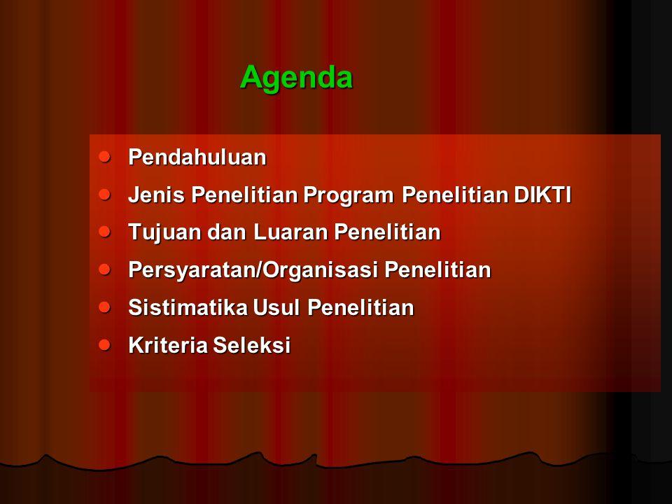 Program Hibah Kemitraan (Hi-Link)  Program multi tahun (maksimum Rp 300juta/tahun), diawali tahun 2006, usul program telah diminta sejak 2005  Inti Program i.