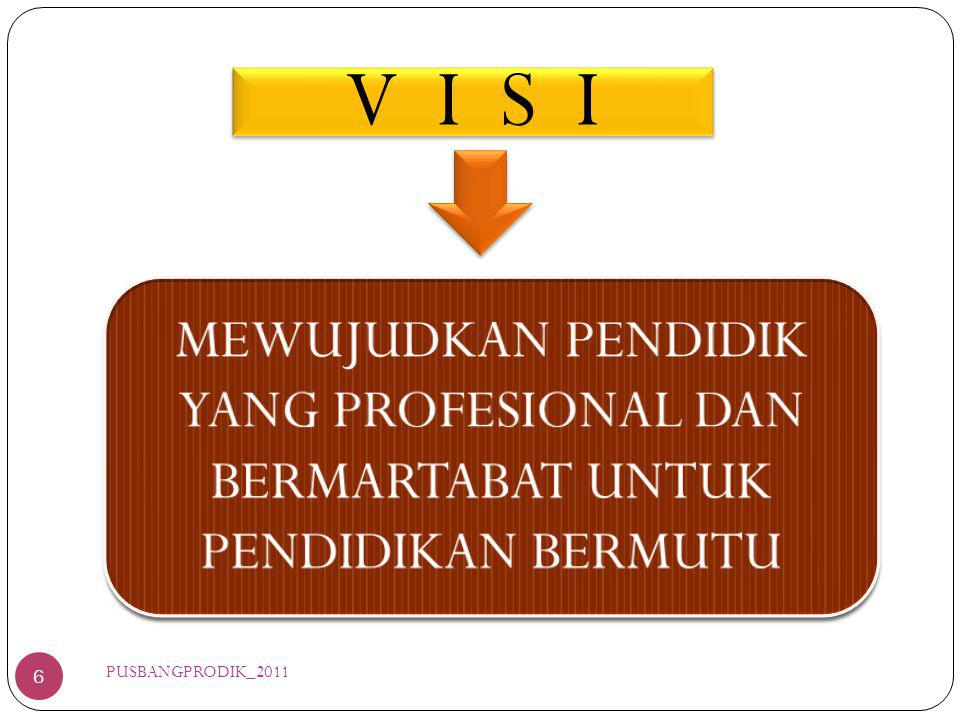 V I S I 6 PUSBANGPRODIK_2011