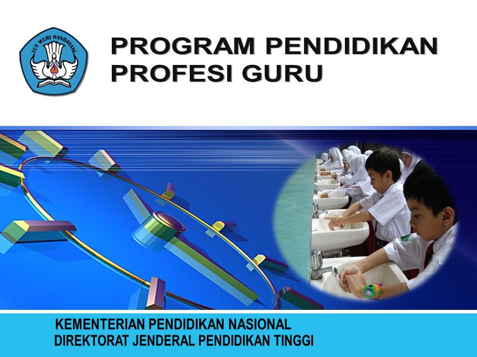 Model C 36 – 40 SKS Yakni program pendidikan calon guru profesional yang masukannya berasal dari S1 kependidikan bidang studi yang tidak linear/tidak sesuai.