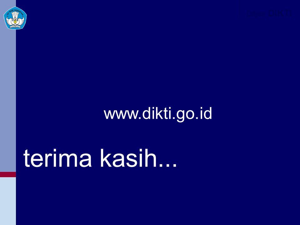 www.dikti.go.id Ditjen DIKTI terima kasih...