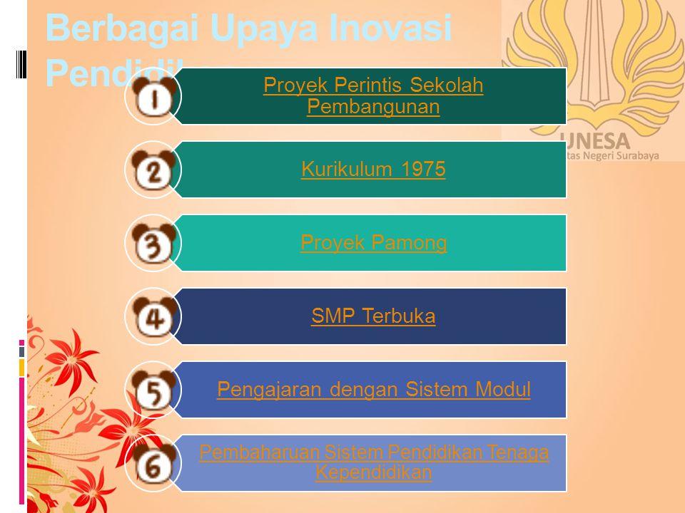 Proyek Perintis Sekolah Pembangunan Ada delapan IKIP yang ditugaskan untuk menyelenggarakan Proyek Perintisan Sekolah Pembangunan (PPSP), yaitu: IKIP Padang, IKIP Jakarta, IKIP Bandung, IKIP Semarang, IKIP Yogyakarta, IKIP Surabaya, IKIP Malang, dan IKIP Ujung Padang.