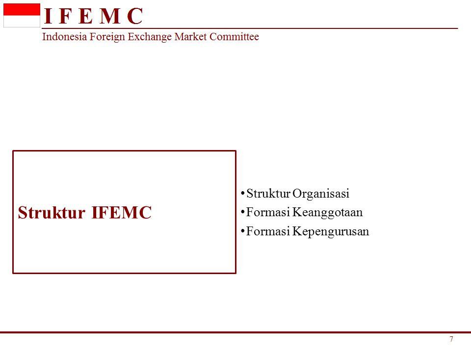 Indonesia Foreign Exchange Market Committee Terdapat issue dalam pendalaman pasar untuk transaksi Fixed Income, antara lain : – Klasifikasi accounting treatment bagi instrumen syariah yang dimiliki oleh conventional banking.