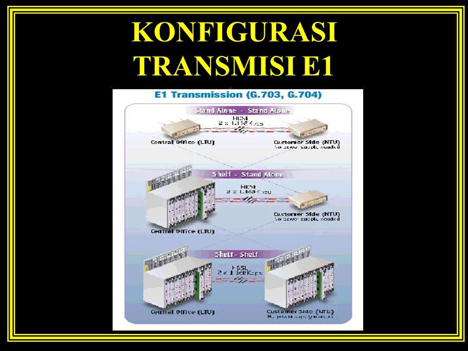 KONFIGURASI TRANSMISI E1