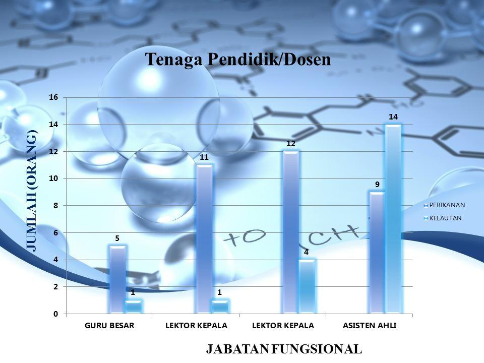 Tenaga Pendidik/Dosen JABATAN FUNGSIONAL JUMLAH (ORANG)