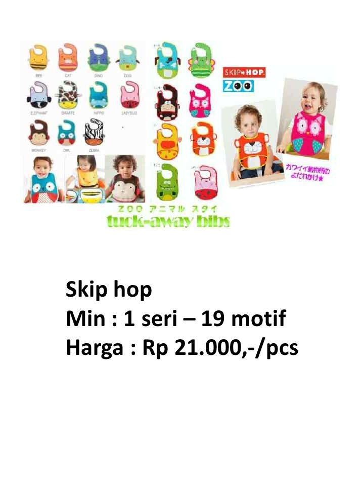 Skip hop Min : 1 seri – 19 motif Harga : Rp 21.000,-/pcs