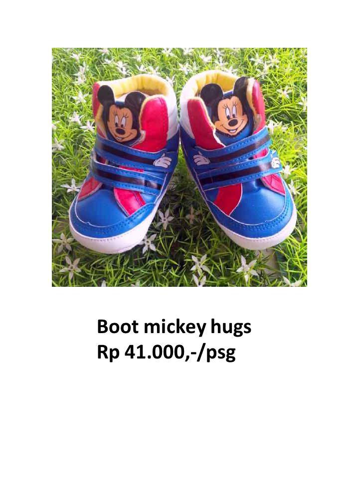 Boot mickey hugs Rp 41.000,-/psg