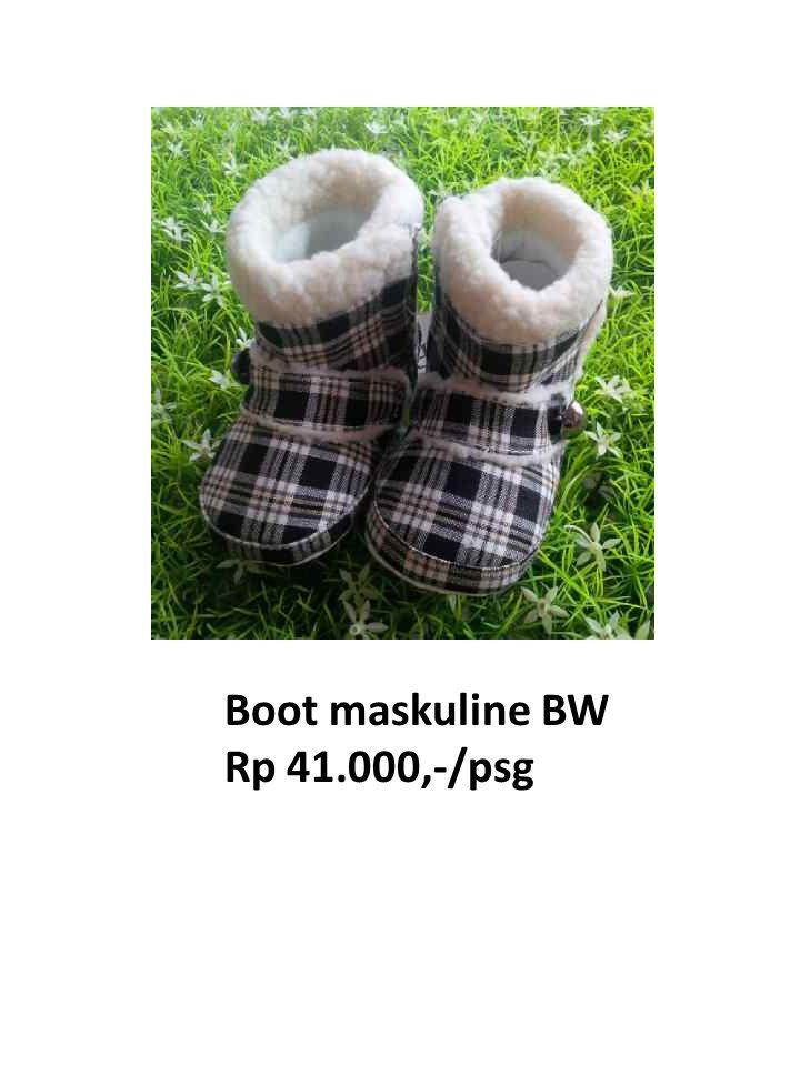 Boot maskuline BW Rp 41.000,-/psg