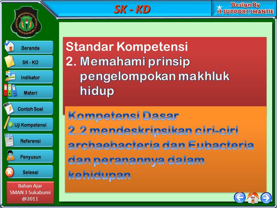 Bahan Ajar SMAN 3 Sukabumi @2011 Bahan Ajar SMAN 3 Sukabumi @2011 Indikator Pencapaian