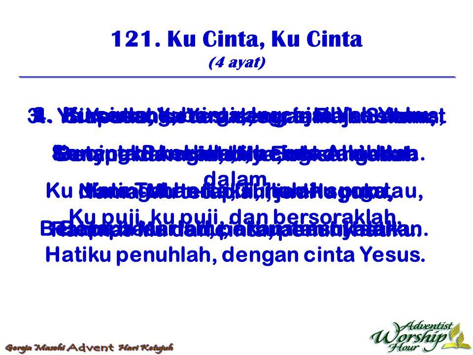 122.Satu Masa Yang Tertentu (3 ayat) Reff: Aku akan lihat Tuhan, kasih-Nya slamatkan aku; 1.