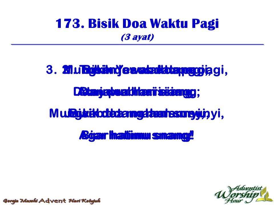 174.Pada-Mu Batu Zaman (4 ayat) 1.