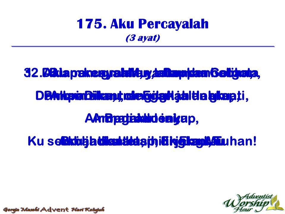 176.Pertama Ku Pinta (4 ayat) 1.