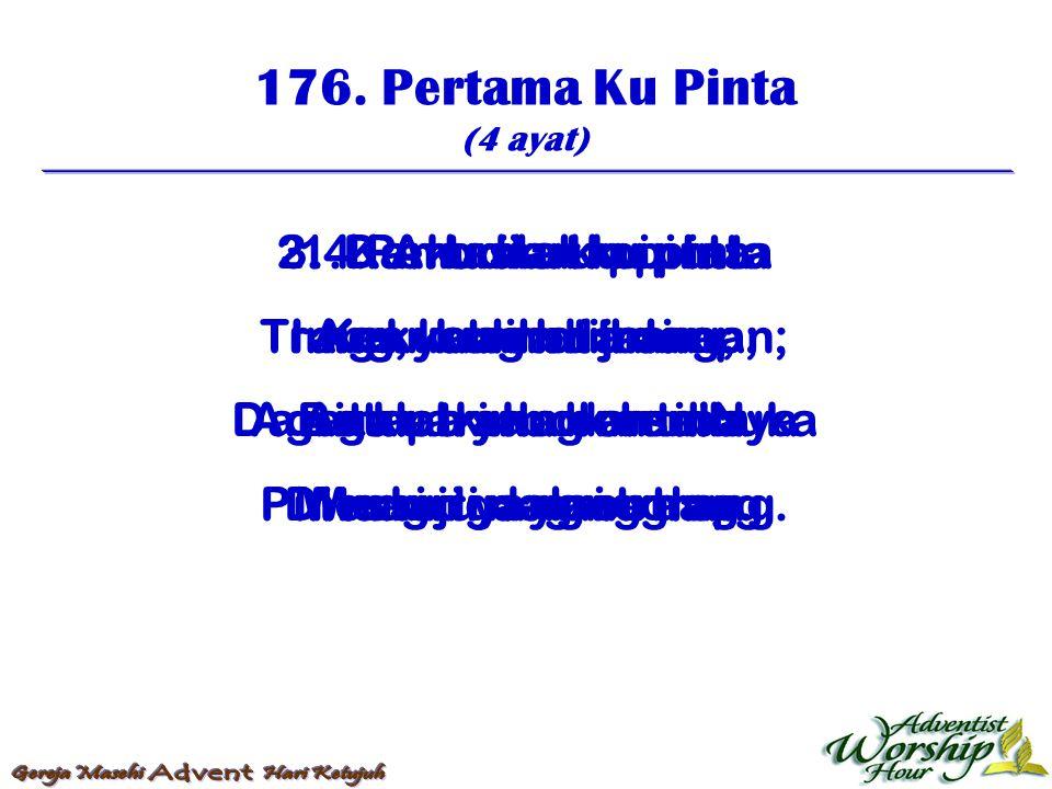 177.Yesus Yang Berkasihan (4 ayat) 1.