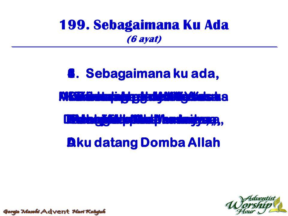 200.Dosamu Dihapuskan (3 ayat) 1.