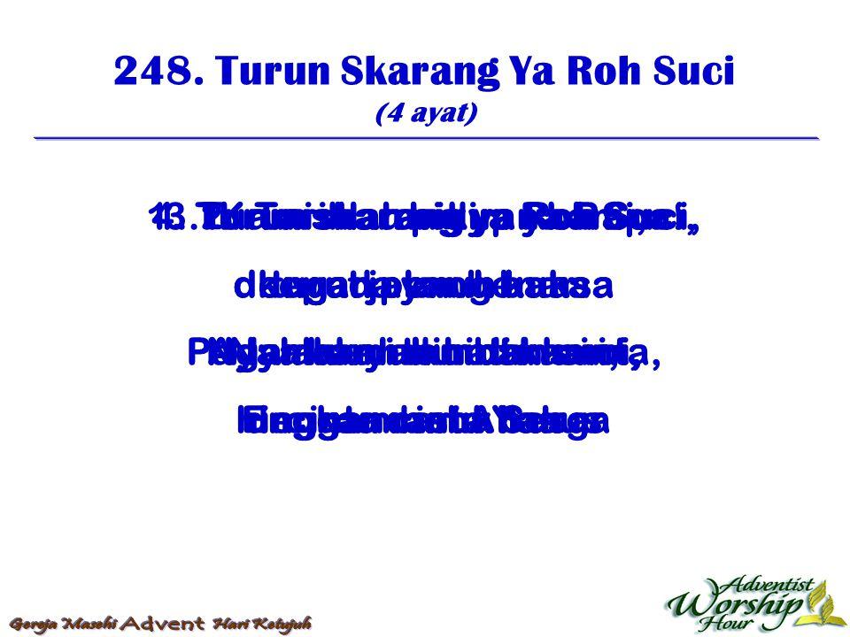 249.Oh Api Roh Suci (5 ayat) 1.