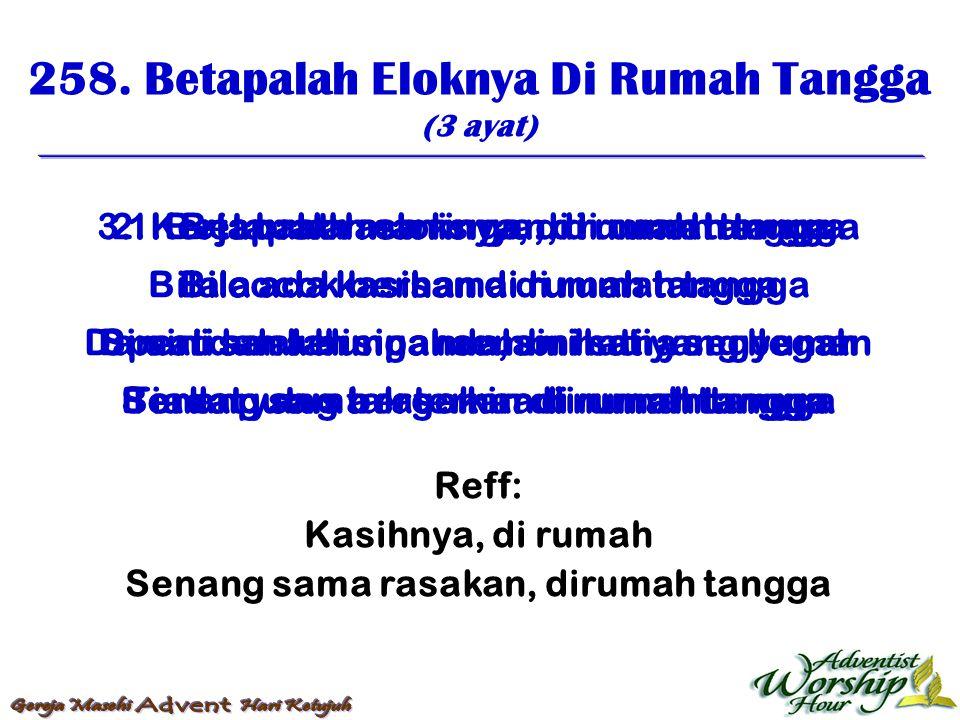 259.Di Rumah (5 ayat) 1.