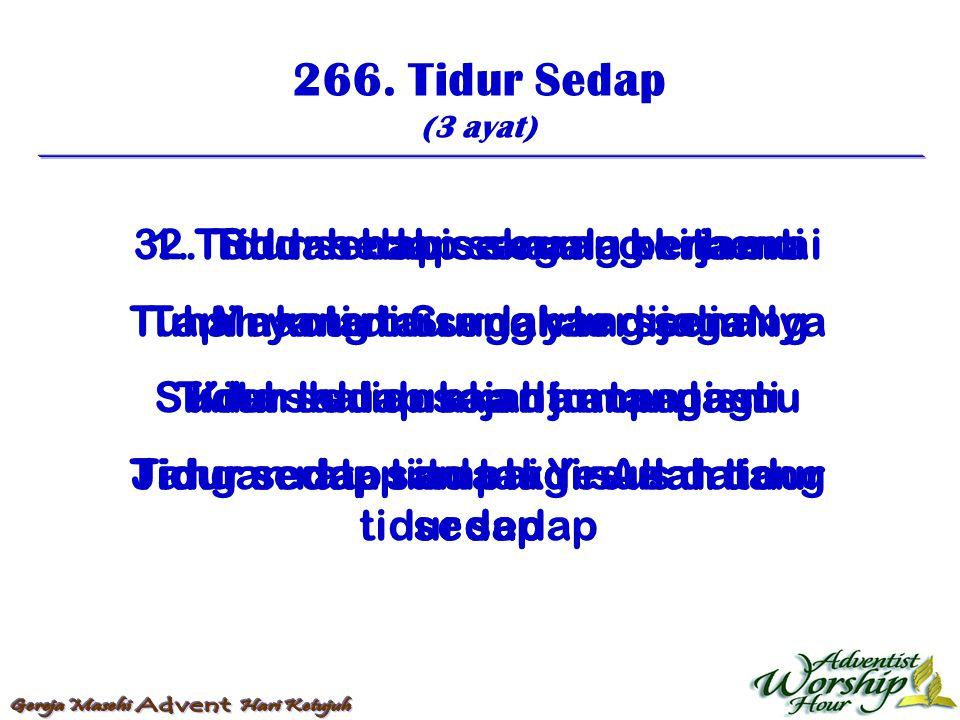 267.Ratap Tak Di Sana (4 ayat) 1.