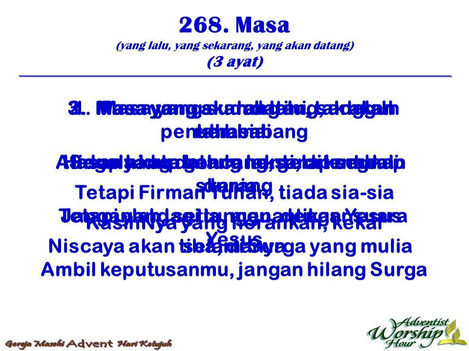 269.Nafas Huw Allah (4 ayat) 1.