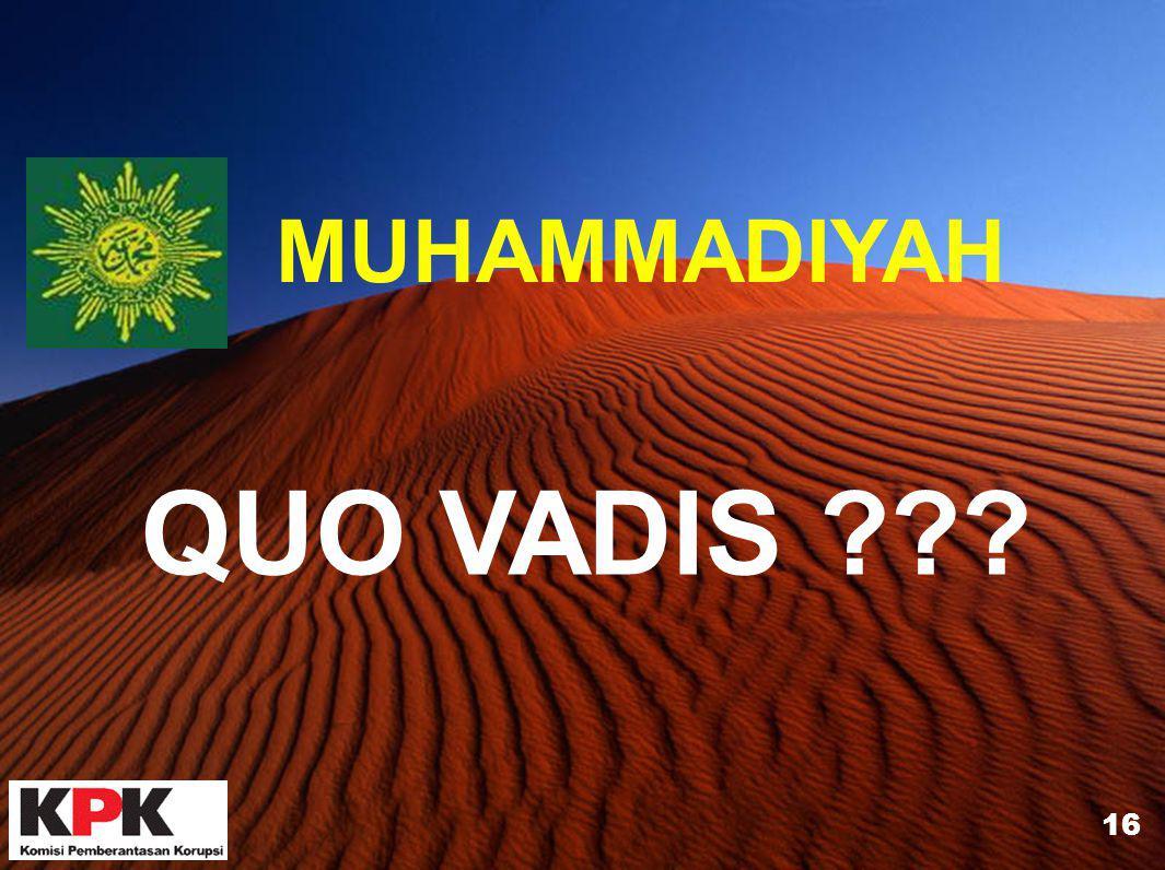 MUHAMMADIYAH QUO VADIS 16