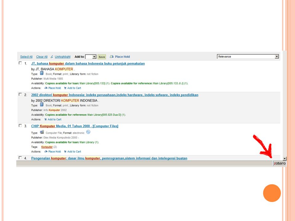I NSTALASI ZOTERO PADA OPEN OFFICE Lalu unduh extensi zotero untuk Open Office.