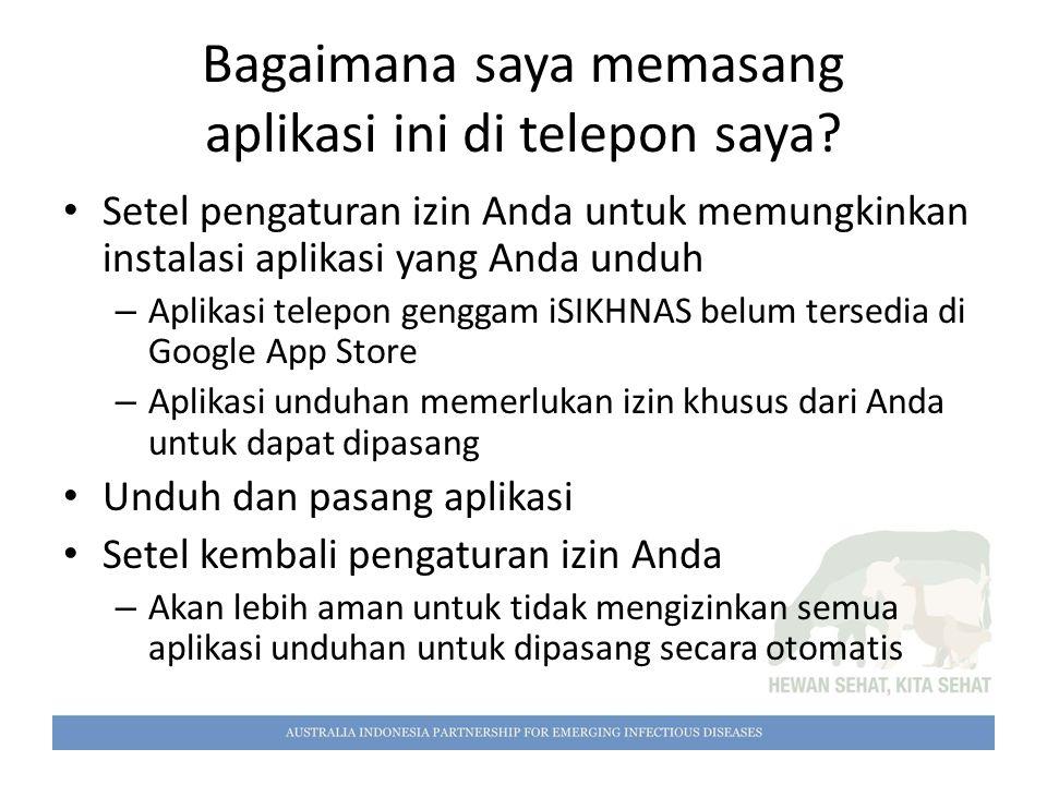 Bagaimana saya memasang aplikasi ini di telepon saya? Setel pengaturan izin Anda untuk memungkinkan instalasi aplikasi yang Anda unduh – Aplikasi tele