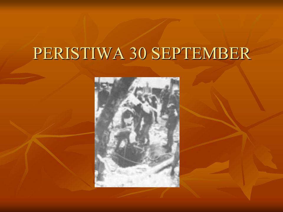PERISTIWA 30 SEPTEMBER