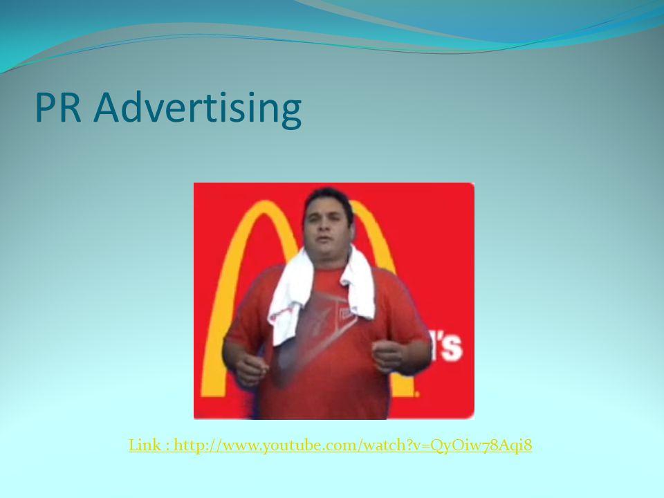 PR Advertising Link : http://www.youtube.com/watch?v=QyOiw78Aqi8